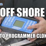 Off Shore Auto Key Programmer Clones | Richmond Locksmiths Video